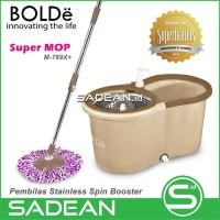 Alat Pel Lantai BOLDe Super MOP M-789X+ Original Stainless Basket