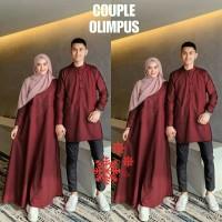 Baju Couple Muslim Pasangan Couple Olimpa Murah