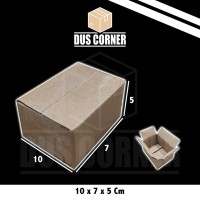 Kardus packing Box uk 10x7x5 cm