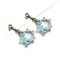 Perhiasan Anting Swarovski - Edelweiss Aurore Earring by AR Hestia