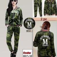 Baju Wanita Army Panjang Set |8815-3| Catun
