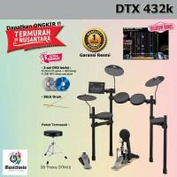 Drum Elektrik Yamaha DTX432 + Kursi / DTX432K / DTX 432 / 432K