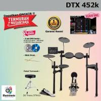 Drum Elektrik Yamaha DTX452 + Kursi / DTX452K / DTX 452 / 452K