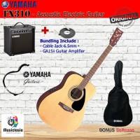 Gitar Elektro akustik Yamaha bundle FX310 Original- Electro Acoustic