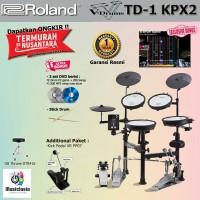 Roland TD1-KPX2 + Pedal + Kursi / TD1KPX2 / TD 1KPX2 / TD1 KPX2
