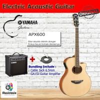Gitar Akustik Elektrik YAMAHA APX600 / APX 600 with Guitar Amplifier