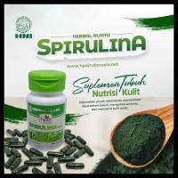Hni Hpai Spirulina Superfood Isi 60 Kapsul Original (Bisa Untuk Masker