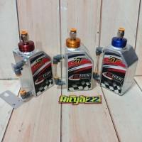 botol reservoir cadangan air radiator ninja vixion cb150 almu aitech