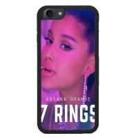 Custom Hardcase iPhone 7 ariana grande 7 rings X8584