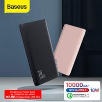 Baseus Powerbank 10000mAH 18W PD Quick Charge Ultra Slim - Premium - Hitam