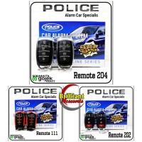 Alarm Mobil Universal POLICE - Tuk Tuk Remote