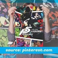 Poster Anime Terlengkap A3 - Persona 5