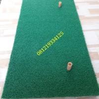 golf swing matt 65 x 35 (free 2 driving tee)