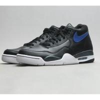 Sepatu Pria- Nike Flight Legacy- Black/Blue- ORIGINAL
