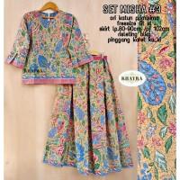 Batik Solo Set Misha 345 Khayra Batiksoloamanah 210.000
