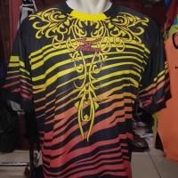 kaos jersey baju voli volly mizuno printing motif batik proliga murah