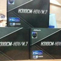 ASRock H310CM-HDV M.2 (LGA 1151,H310,DDR4) Support Intel 9th Gen