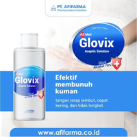 GLOVIX ASEPTIC ANTISEPTIC LIQUID HAND SANITIZER 250 ML