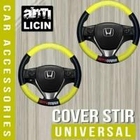 Cover Sarung Stir Mobil Honda Brio Mobilio HRV BRV motif Bismillah