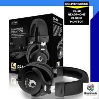 HEADPHONES DS50 STUDIO MONITOR REKAMAN - RECORDING ISK DS 50 / DS-50