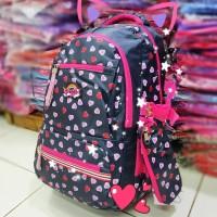 Tas Ransel Backpack Sekolah Anak Alto Silver Girl 5 Res Rain Cover