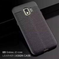 Samsung Galaxy J2 Core Armor Texture TPU Soft Case - Hitam