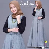 Baju Terusan Wanita Muslim Longdress Callia Maxy Shofiya