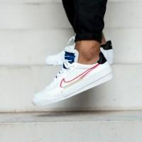 SEpatu Sneakers NIKE DROP TYPE HBR White Red Blue Original Murah