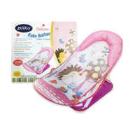 Baby Bather Pliko Deluxe tempat duduk mandi bayi - Pink