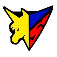 Bordir Logo Emblem Unicorn ukuran 82 x 75 mm | jasabordirkomputer.com