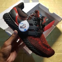 Sepatu Adidas Ultra Boost Runner 4D Solar Red Premium Original