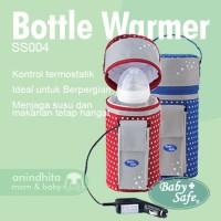 BABYSAFE Car Bottle Warmer Penghangat Susu / ASI Mobile Travelling