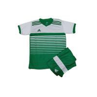 Jersey Baju Bola Anak Set Kostum Bola Futsal Anak Kaos Celana Adidas