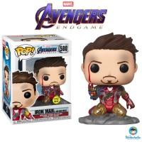 Funko POP! Marvel Avengers Endgame - I am Iron Man (Glow in the Dark)