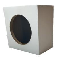 Box Speaker Kotak 6 inch Putih