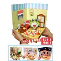 Decodeco papertoy buy 3 free 1 STOCK TERBATAS