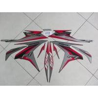Striping Lis Stiker Motor Honda Vario Techno F1 125 2014 Hitam