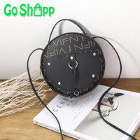Tas Sling Bag Bulat VIFN- Tas Bulat Fashion Korea Import Terbaru -TB02
