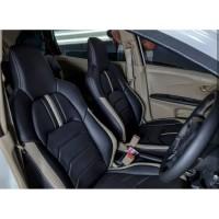 Sarung Jok Mobil DATSUN GO Bahan PORSCHE Otomotifku Berkualitas ORI