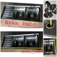 LARIS Bak Cuci piring set westafel Sink atau Westafel cuci piring set