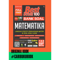 BUKU BEST SCORE 100 BANK SOAL MATEMATIKA SMP KELAS 7 8 9