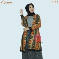 outer cardigan batik songket wanita baju rompi etnik adat ulos premium
