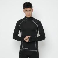 Baselayer Rashguard Waldos Tiano Black Wetsuit Diving Swimming gear