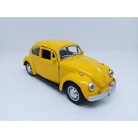 Die Cast Auto World - Volkswagen Beetle - Yellow - 1:32 - 3204Y