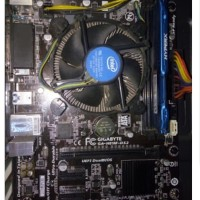 Paketan Haswell Gigabyte H81M ds2 + I3 4150 + Ram 8gb + Fan