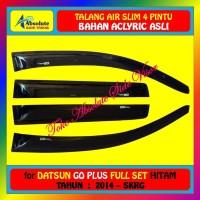 TALANG AIR (4 PINTU) DATSUN GO+ / GO PLUS 2014 UP - MODEL SLIM - HITAM