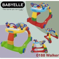 Baby Walker BabyElle 0188 Colourful