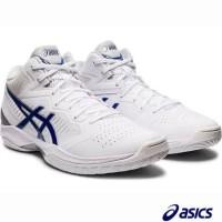 Sepatu asics GEL HOOP V12 BLUE WHITE 2020 Basketball Volleyball