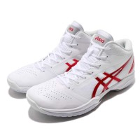 Sepatu asics GEL HOOP V12 RED WHITE 2020 Basketball Volleyball
