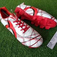Promo Ortuseight Ventura Fg (Sepatu Bola) - White/Red/Black Termurah